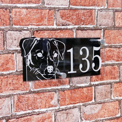 Jack Russell House Sign