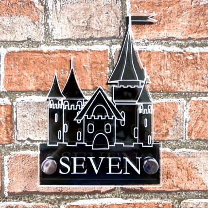 Princess Castle House Sign